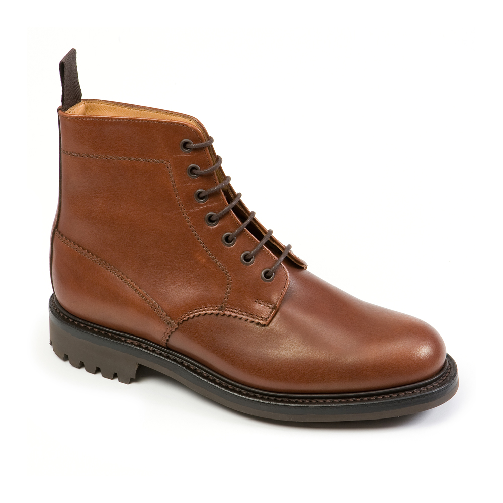 Kelso Brown Boot Commando Sole