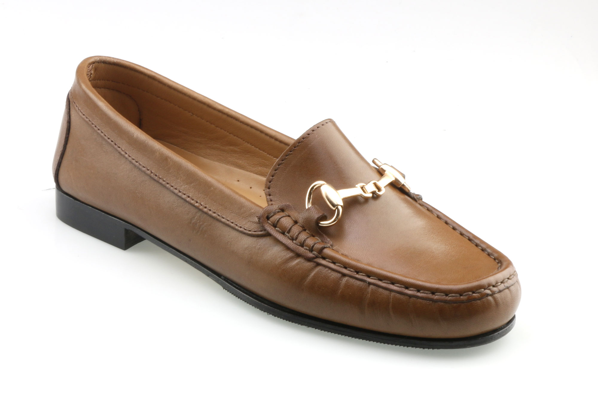 Womens Slip On Brown Shoes