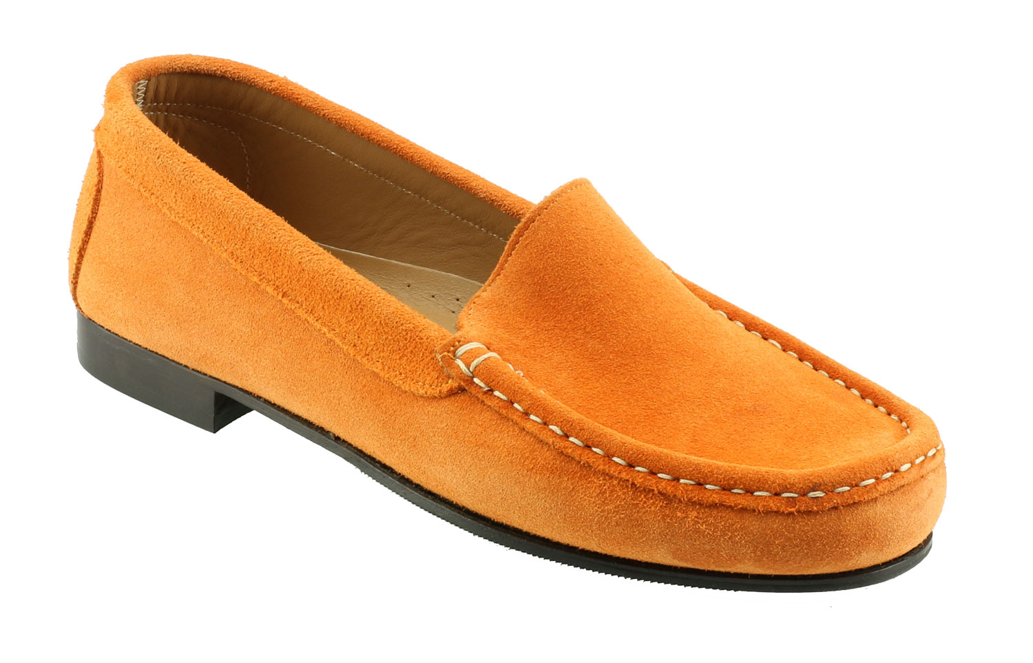 Easy Leather Slip On Shoes Ladies