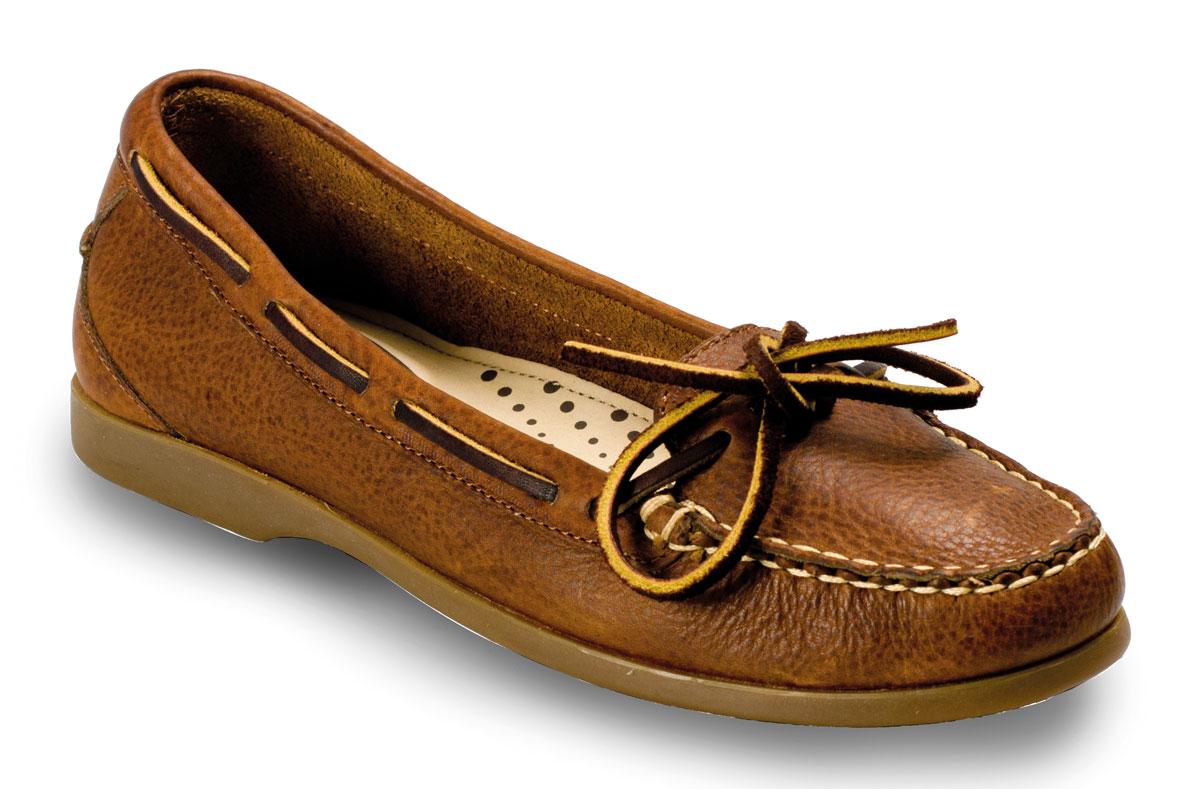 Brown Ladies Boat Shoes