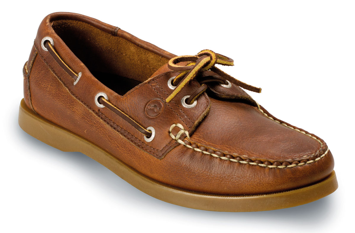 7594af01d48a KETCH Ladies Havana Brown Sailing Shoe