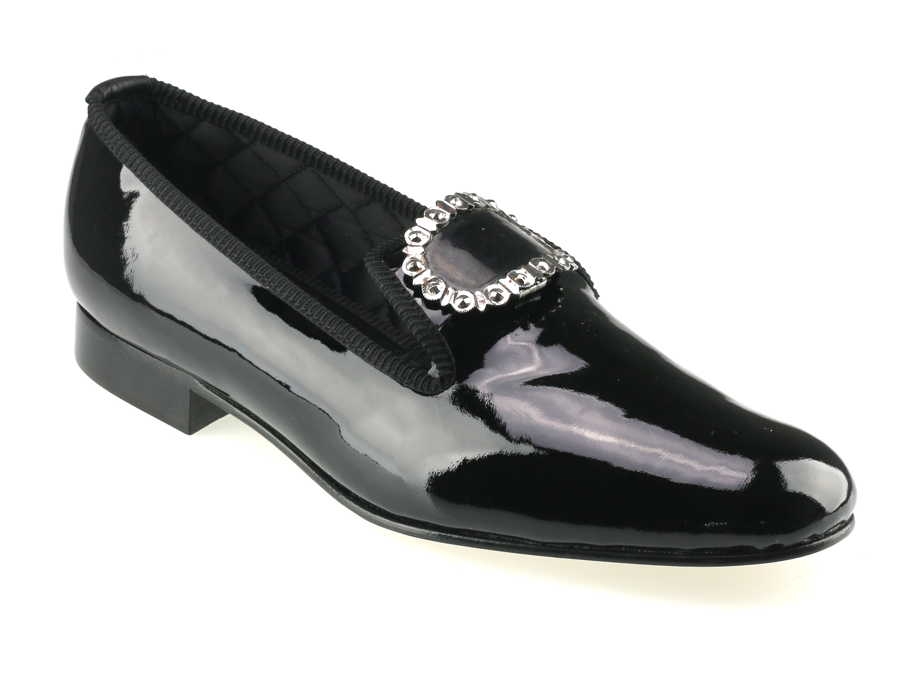 Black Patent Shrieval Dress Shoes
